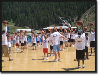 Kids Basketball Camp, California Summer Camp